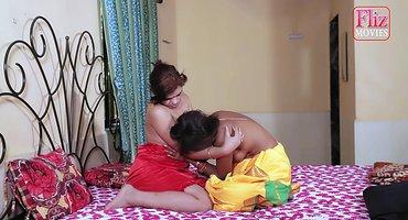 Две замужние индианки вылизывают в постели пилотки
