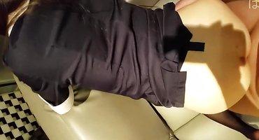 Мужик перед камерой раком выебал японскую стюардессу